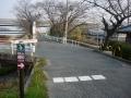 160227高田バイパス下は側道をくぐって幹線道を回避