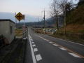 160320奈良県道254号のアップダウン
