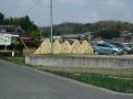 160320竹を干している高山らしい風景