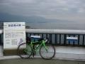 160402琵琶湖大橋を渡る