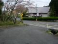 160402道の駅こんぜの里りっとう前で県道12号合流