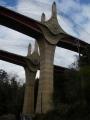 160402大鳥居上の新名神高速橋脚