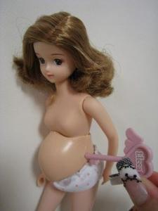 妊婦リカちゃん