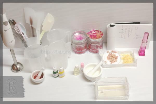 桜 手作り石鹸 ゴートミルク シアバター 20160303