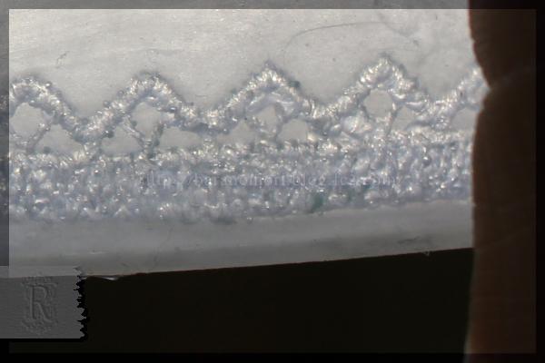 レース石鹸 シリコン 型 シート 作り方 20160319