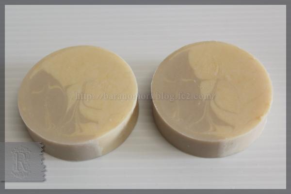 レンコン 蓮根 ヨーグルト ホエイ 手作り石鹸 オリーブスクワランオイル 実験 20160328