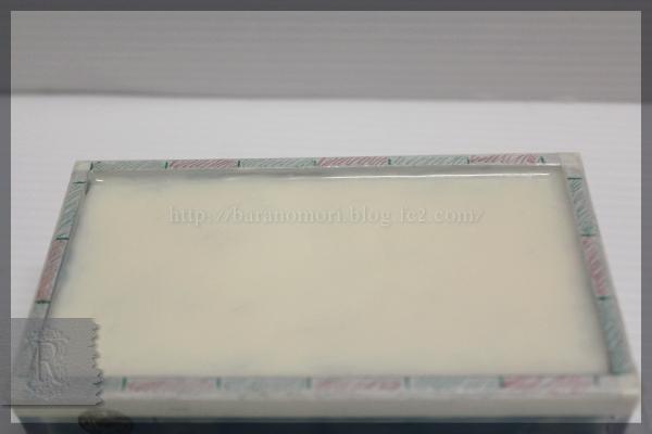 手作り石鹸 グラデーション 波 水面 ウロコ ハッカ油 20160331