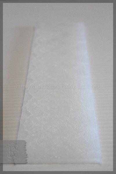 シリコン型 石けん レース石鹸 自作 20160315