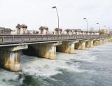 琵琶湖の水位と放水量