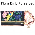 Flora Emb Purse bag navy (1)