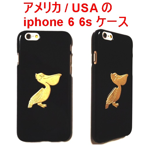 Pelican iPhone 6 Case Bird Gold black (3)1