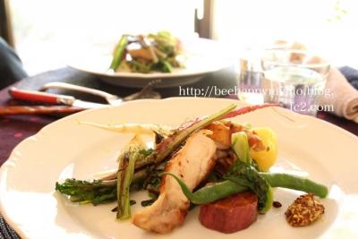 焼き野菜とチキングリル