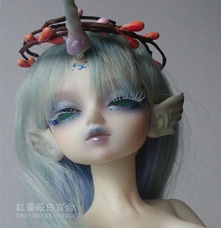 瑠璃月音(ルネ):LOONGSOUL Eloise獣ヘッド+LOONGSOUL42.5獣の女ボディ(美白)