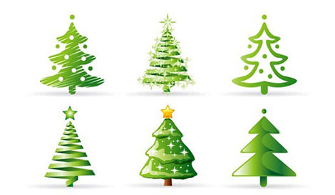 4-Christmas-Tree-Collection-Vector (470x273) (2)