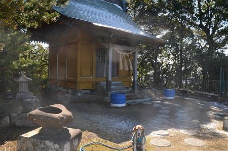 20160301富士見百景 清澄山天富神社境内06
