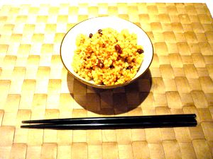発酵玄米お茶碗