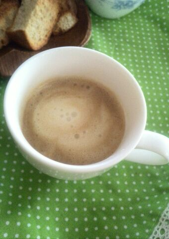 クリーミーなカフェラテ