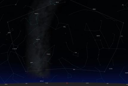 斜里の星空3