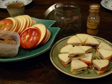 りんごのサンド