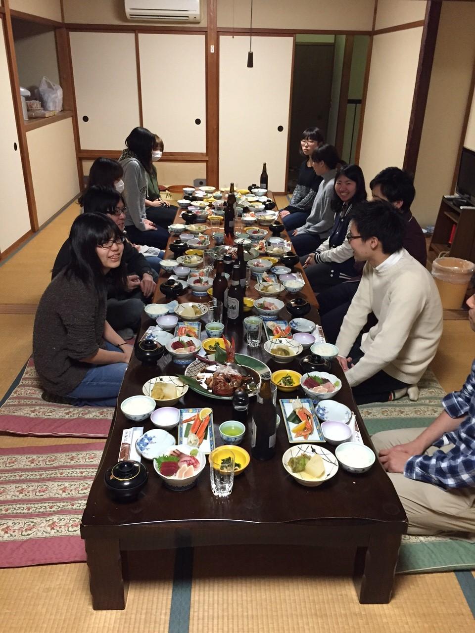 食事風景【一日目】