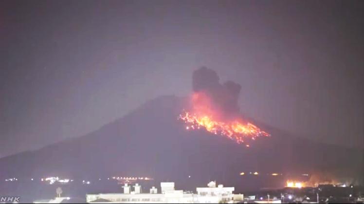 桜島噴火1-1