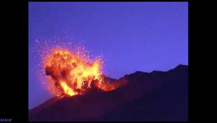 桜島噴火1-3