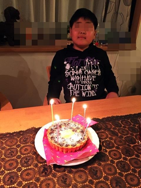 次男坊誕生日5