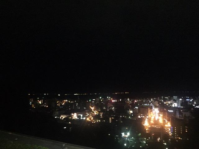 夕刻の桜島2