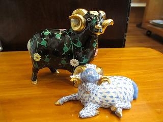 ヘレンド 羊 008