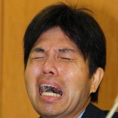 号泣する野々村竜太郎