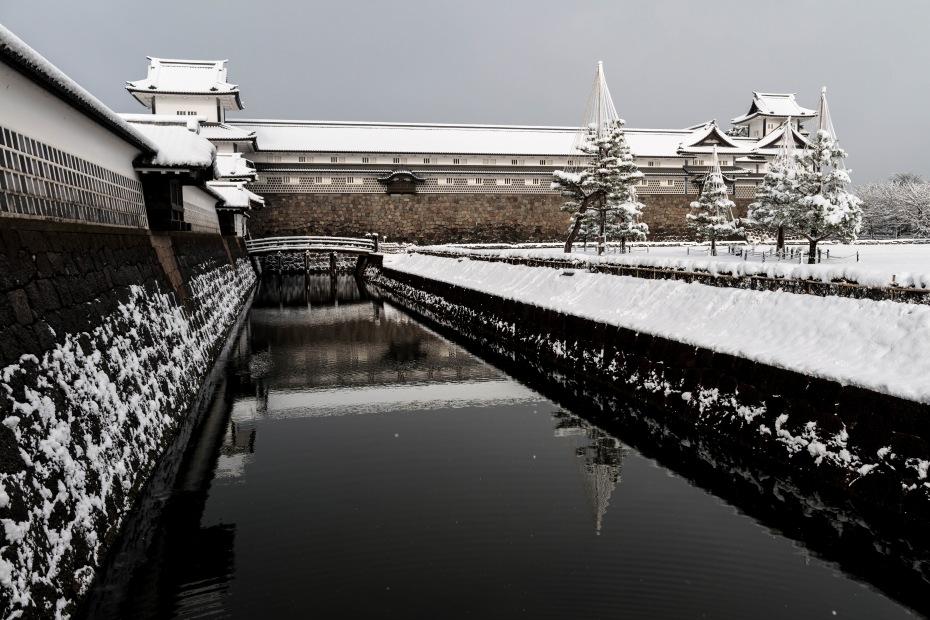 2016.02.16長町武家屋敷跡・兼六園・金沢城の雪景色12