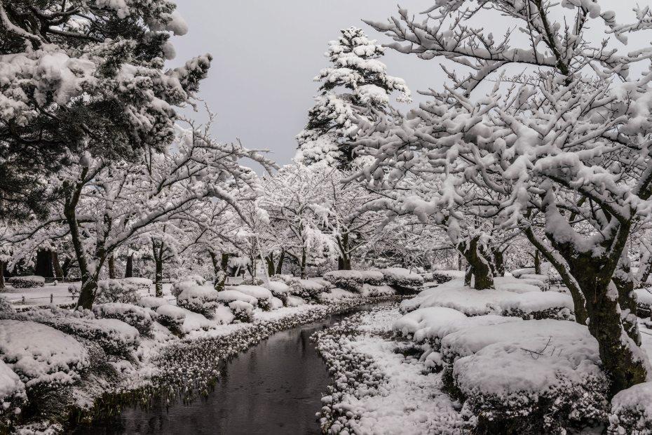2016.02.16長町武家屋敷跡・兼六園・金沢城の雪景色11