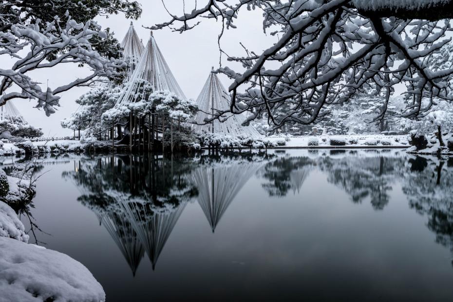 2016.02.16長町武家屋敷跡・兼六園・金沢城の雪景色8
