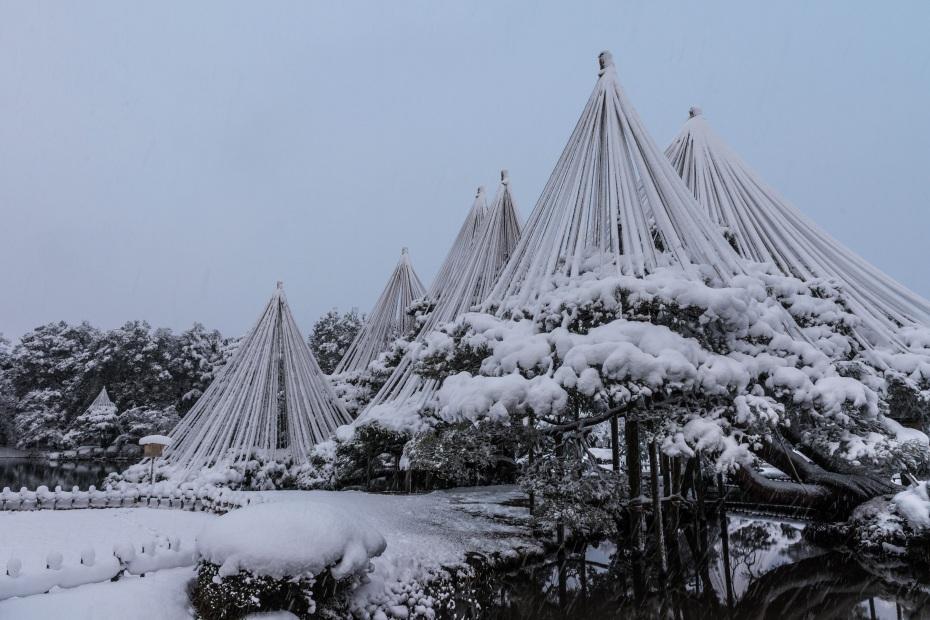 2016.02.16長町武家屋敷跡・兼六園・金沢城の雪景色6