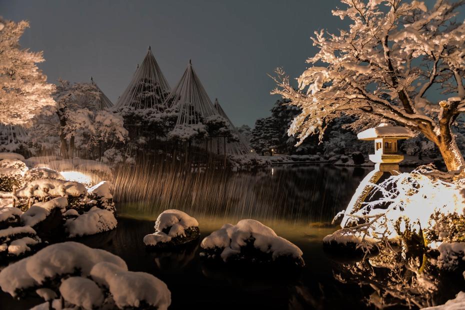 2016.02.16長町武家屋敷跡・兼六園・金沢城の雪景色3