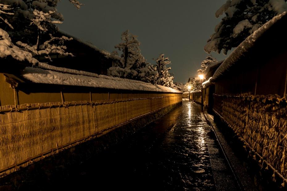 2016.02.16長町武家屋敷跡・兼六園・金沢城の雪景色2