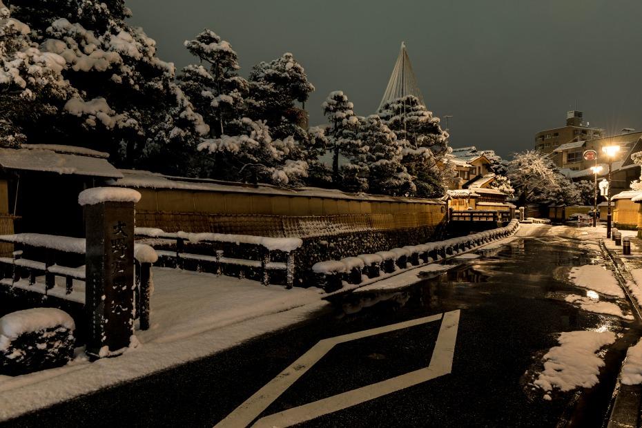 2016.02.16長町武家屋敷跡・兼六園・金沢城の雪景色1