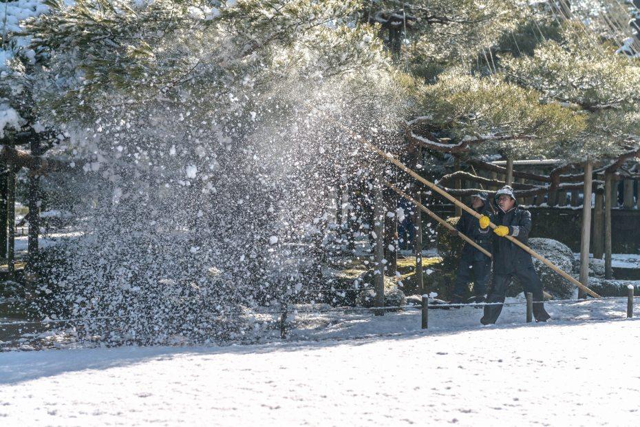 2016.02.25兼六園の雪景色17
