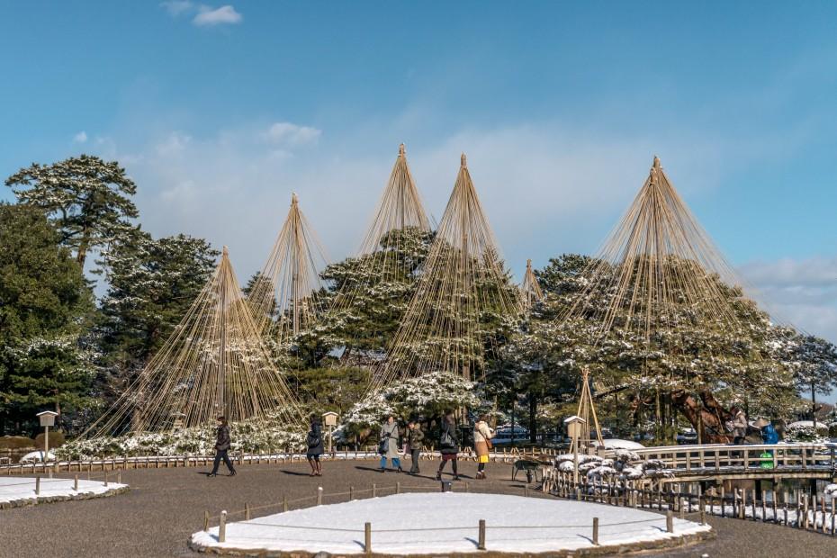 2016.02.25兼六園の雪景色15