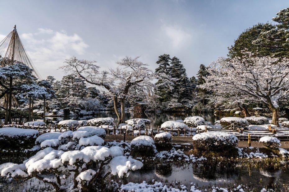 2016.02.25兼六園の雪景色13