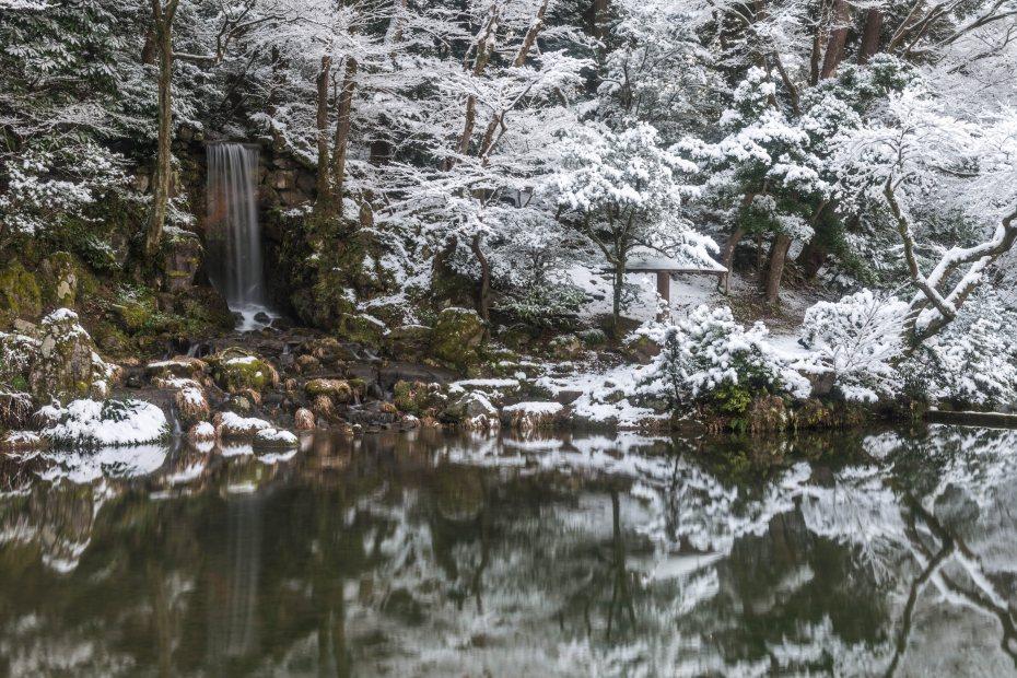 2016.02.25兼六園の雪景色8