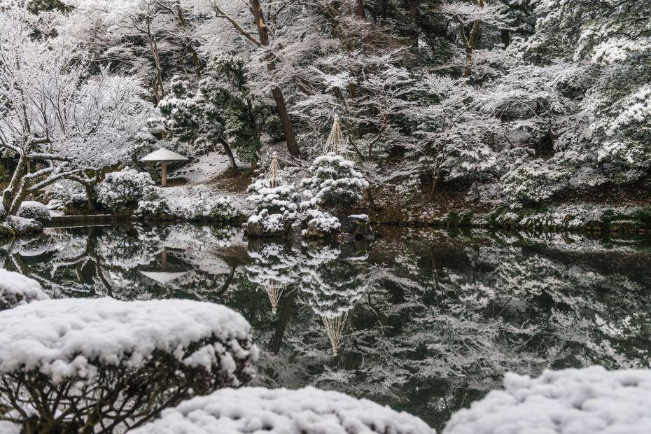 2016.02.25兼六園の雪景色7