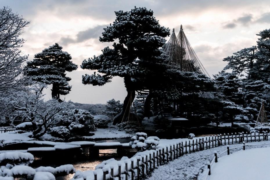2016.02.25兼六園の雪景色6