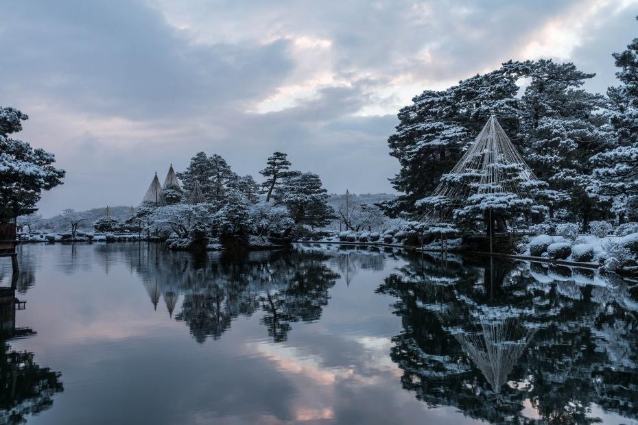 2016.02.25兼六園の雪景色5