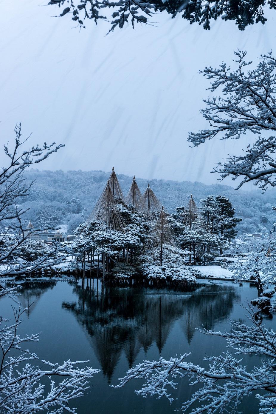 2016.02.25兼六園の雪景色4.1