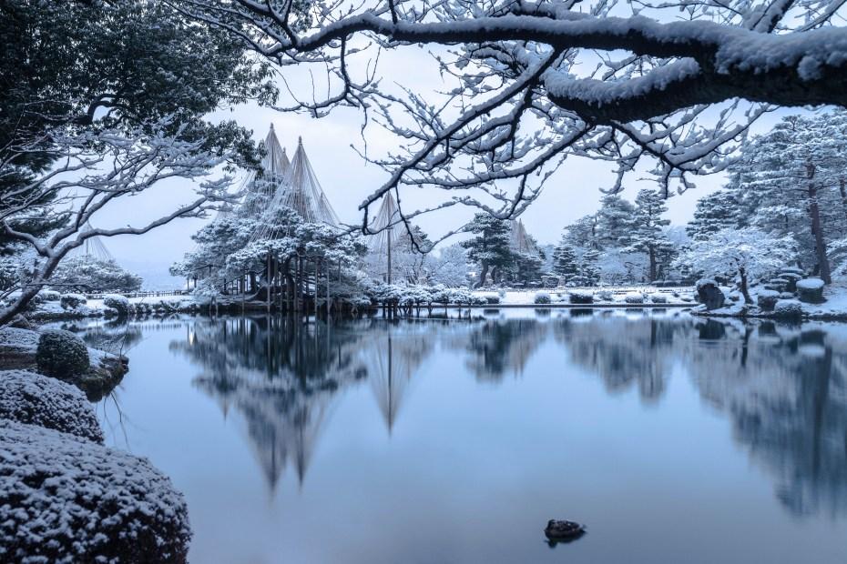 2016.02.25兼六園の雪景色3