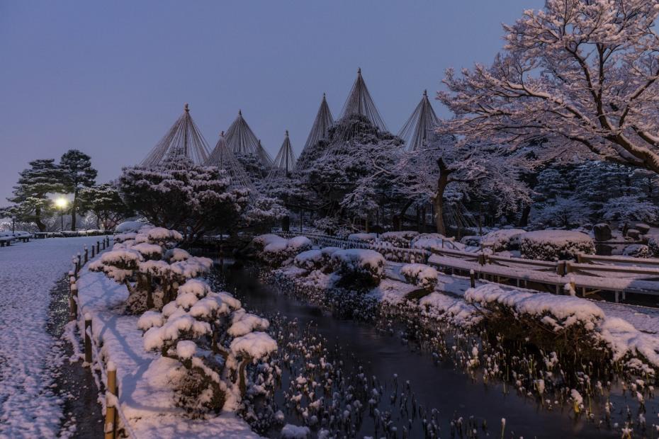 2016.02.25兼六園の雪景色1