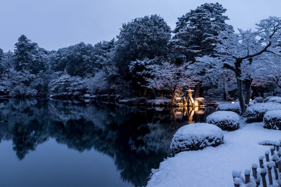 2016.02.25兼六園の雪景色2