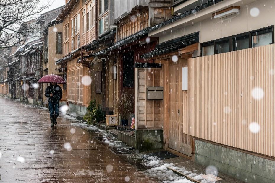 2016.02.26雪景色の主計町9