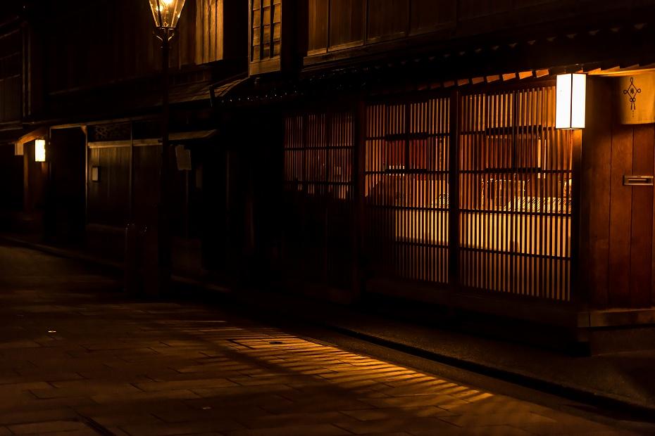 2016.03.08ひがし茶屋街の夕暮れ4